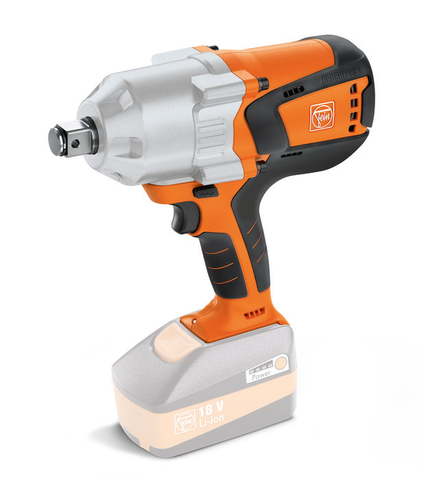 ASCD 18-1000 W34 SELECT Cordless impact wrench/driver (Orange) (Only Unit)