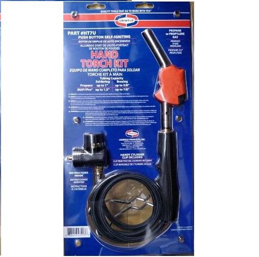Hand Torch Kit with Hose - Uniweld, Model : HT7U
