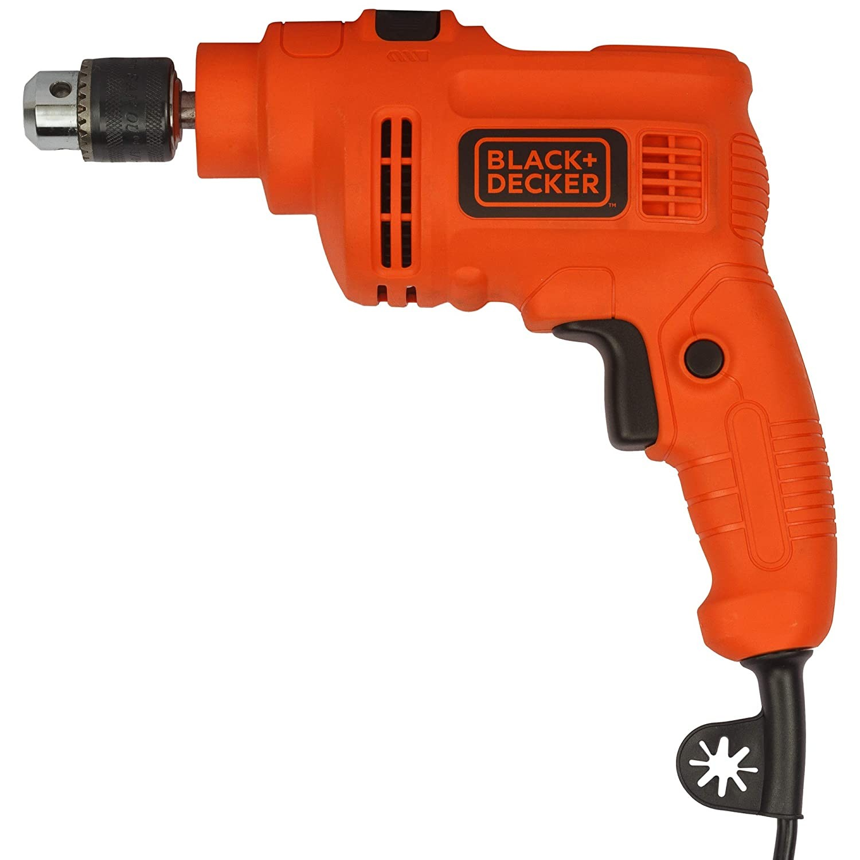 BLACK + DECKER KR5010 500W 10mm Single Speed Hammer Drill/Driver