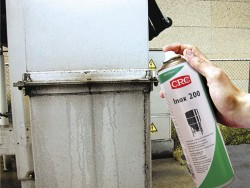 CRC INOX 200 Anti-corrosion coating for stainless steel surfaces.
