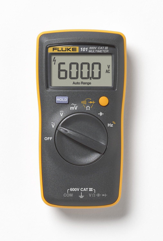 Fluke 101 Pocket Digital Multimeter (Black , Yellow)