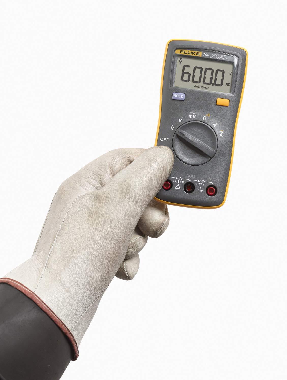 Fluke Digital Multimeter - 106 (Yellow , Black )